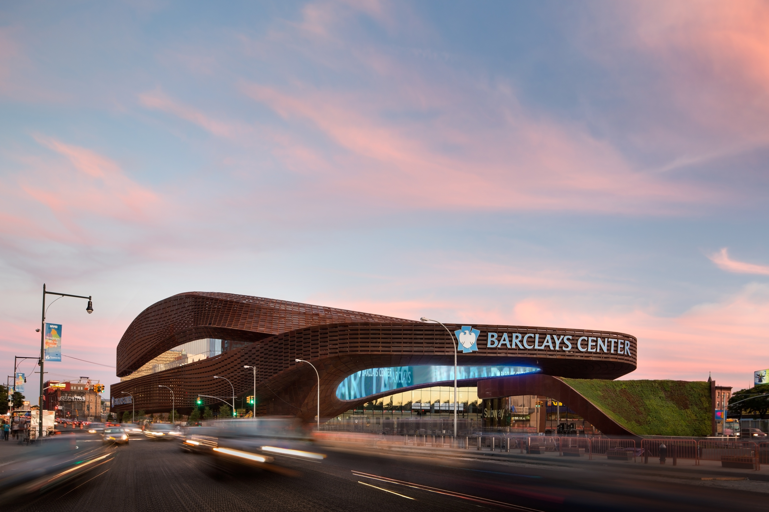 Barclays Center Unveiling