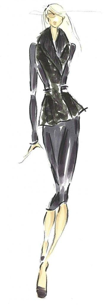 Pamell Roland Fall 2013 Sketch 4