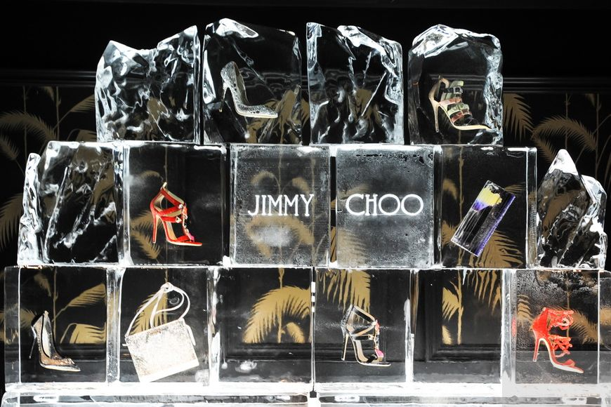 Stilettos On Ice At the Jimmy Choo Cruise Collection Preview