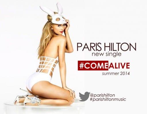 Paris Hilton Comes Alive In Vintage La Perla