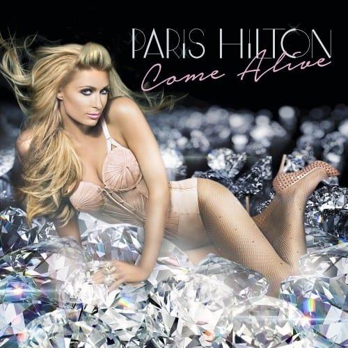 Paris Hilton wears La Perla vintage bodysuit in the Come Alive cover