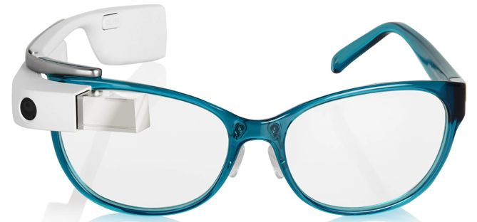 DVF Goes Into Smart Eyewear With Google Glass