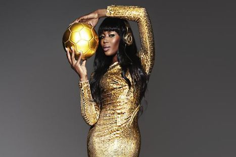 Beats by Dre and Naomi Campbell Go Golden for Germany