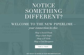 It Girls Celebrate The Revamp Of Piperlime