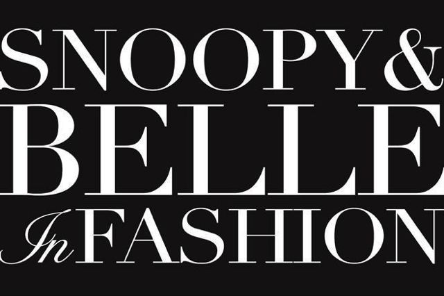 Snoopy And Belle In Fashion Exhibit Arrives In New York