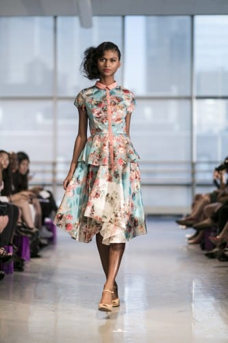 New York Fashion Week: Yuna Yang Spring/Summer 2015 Presentation
