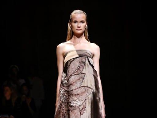 New York Fashion Week: Josie Natori Unveils Spring 2015 Collection