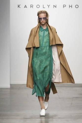 New York Fashion Week: Karolyn Pho Spring 2015