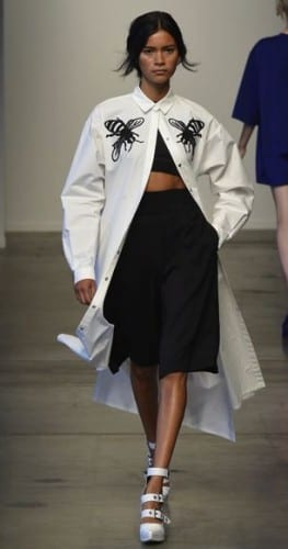 Oversized Chic At Kye Spring/Summer 2015 NYFW