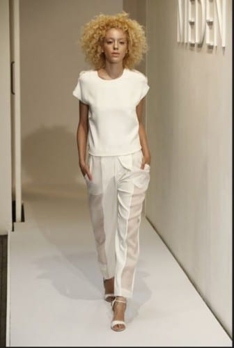 Designer Walter Lee Launches Womenswear Brand Meden At NYFW