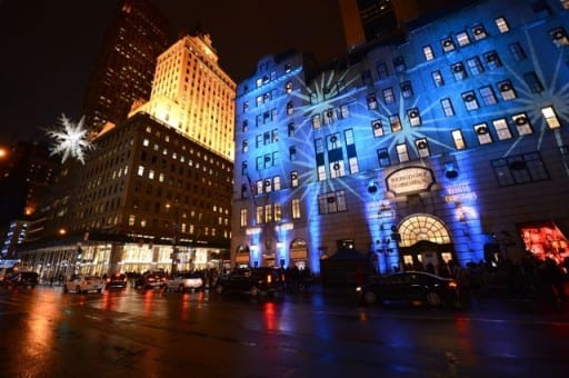 Bergdorf Goodman Holiday Window Unveiling & UNICEF Snowflake Lighting Ceremony