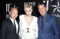 W Magazine and Hugo Boss fêted the opening night exhibition of Shooting Stars