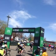 The Annual TD Bank Five Boro Bike Tour Arrives In NYC