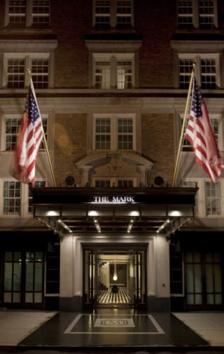 THE MARK Hotel-ENTRANCE VERT-Photographer Todd Eberle-HiRe