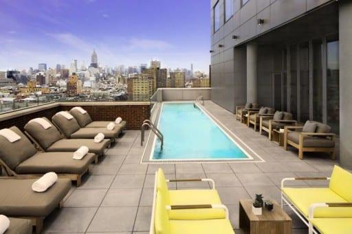 Mr. Purple Terrace - Photo Credit Hotel Indigo LES