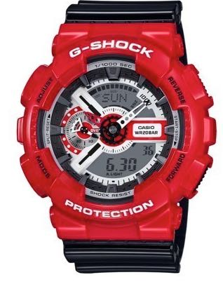 G-Shock Red Theme Collection GA110RD-4A