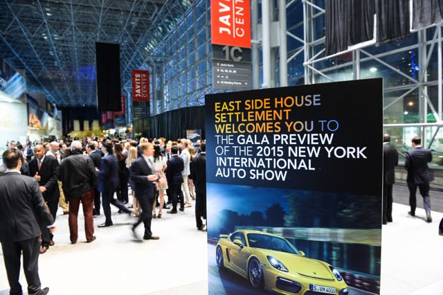 East Side House Settlement Preview Gala at New York International Auto Show