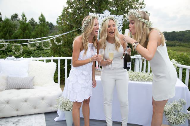 Hamptons Summer Soiree marks #Bloomingenblanc
