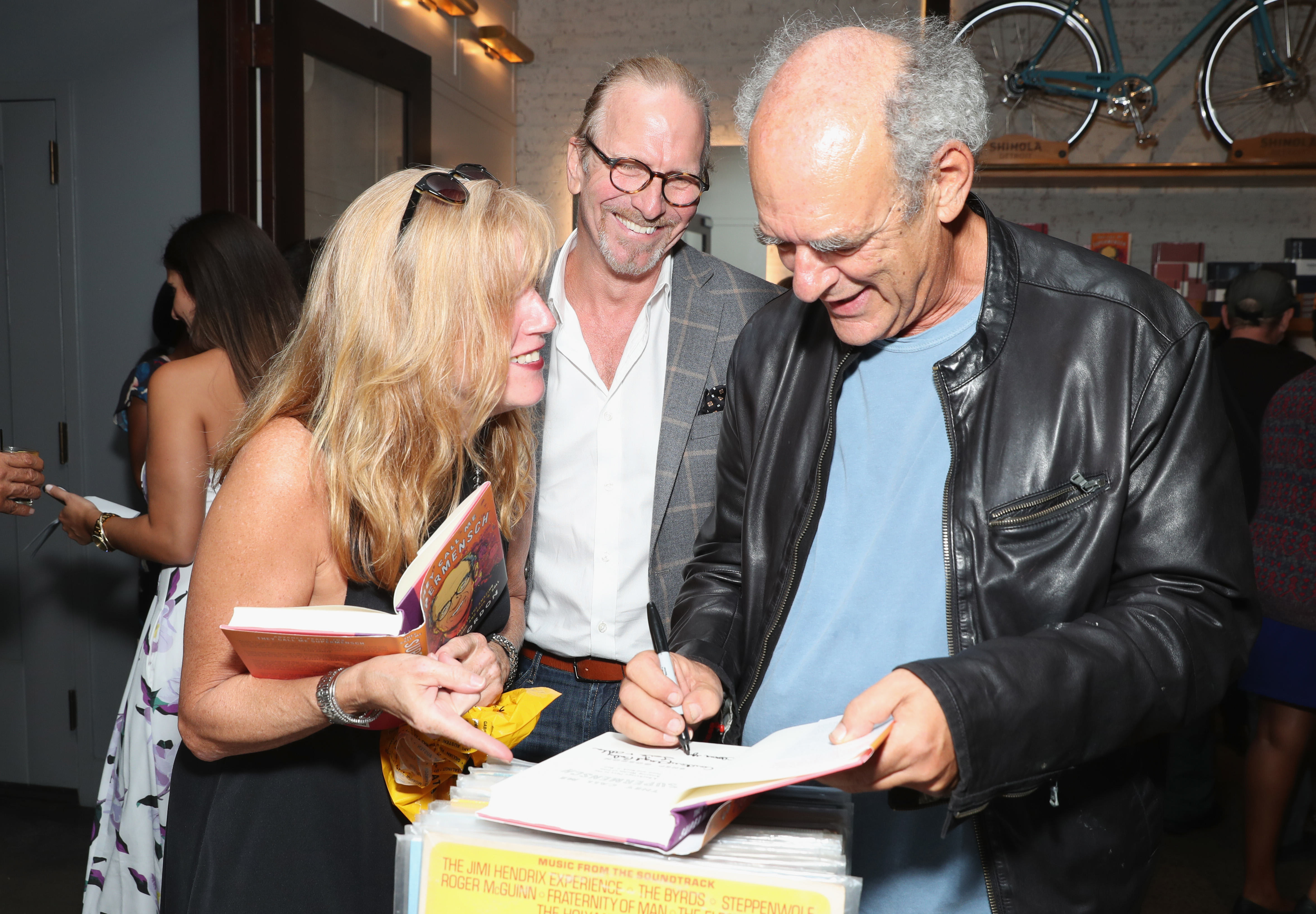 Shep Gordon Celebrates New Memoir, They Call Me Supermensch: A Backstage Pass to the Amazing Worlds of Film, Food, and Rock 'n' Roll.