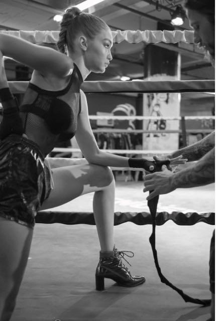 Gigi Hadid Teams Up With Stuart Weitzman to Design The Gigi Boot