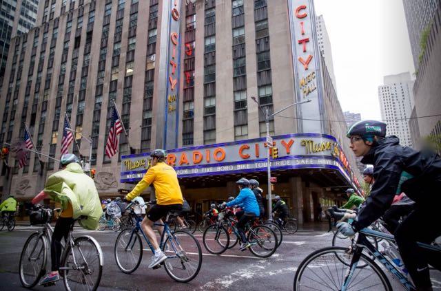 2016 TD Bank Five Boro Bike Tour
