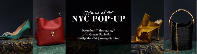 The RealReal NYC Holiday Pop Up Shop Arrives In SoHo