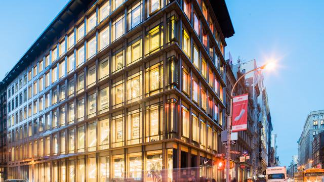 Nike Opens New Unit in NYC's SoHo