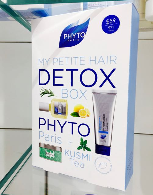Phyto's My Petite Detox Box Is The Answer For Healthy Hair & Growth