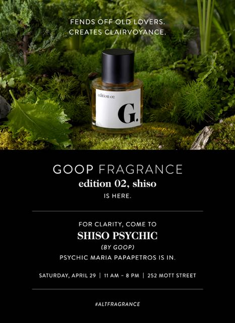 Gwyneth Paltrow's Goop Pop Up Is Dedicated to Beauty
