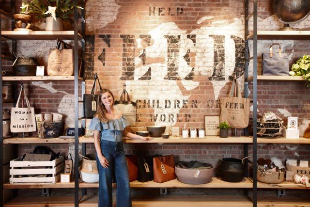 Lauren Bush Lauren's Feed Projects Opens in DUMBO