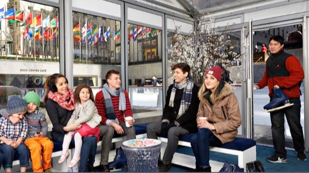 Rockefeller Center Ice Skating Rink Is Officially Open For The New Season
