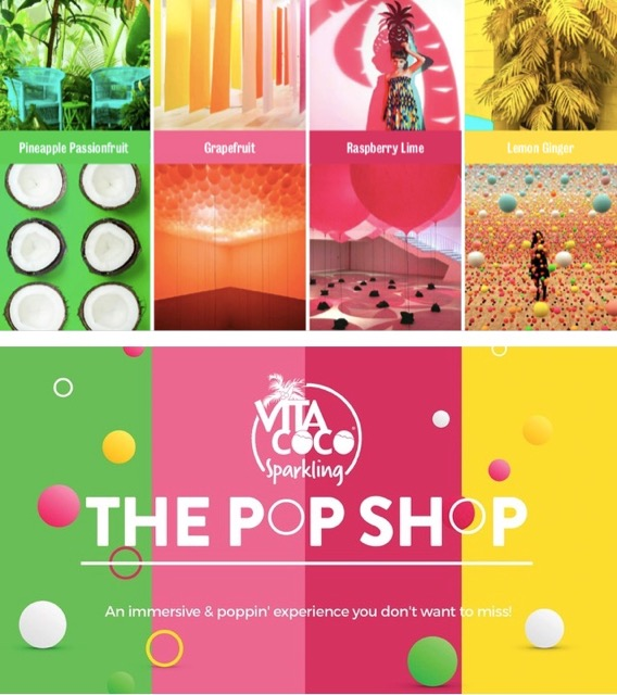 What To Do In NYC? Head To The Pop Shop By Vita Coco
