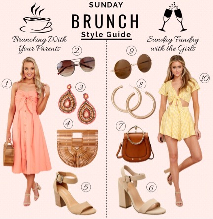 What To Wear To Brunch This Sunday