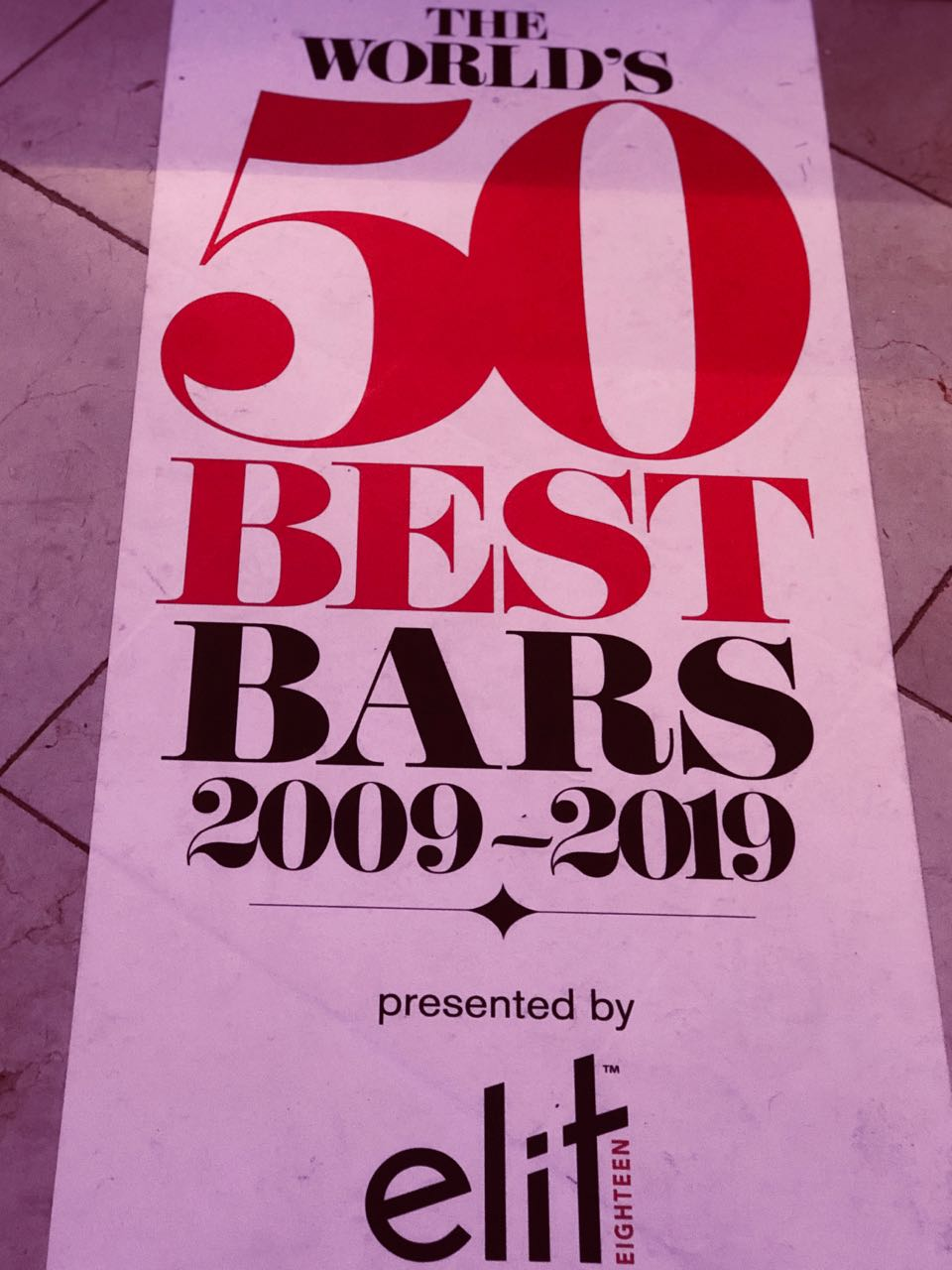 We Celebrate The World's 50 Best Bars For Drinking Destinations